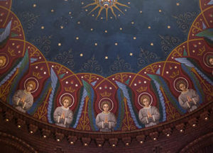 Angels on the Apse Ceiling