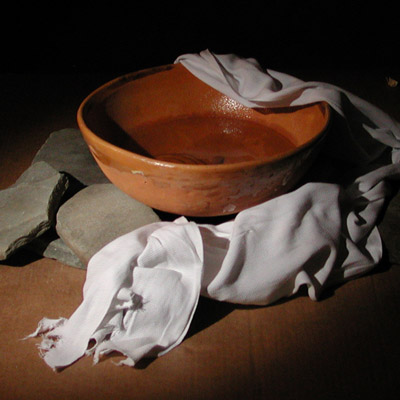 Foot washing bowl