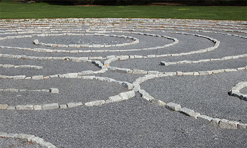 The Labyrinth at St. Thomas Spiritual Center