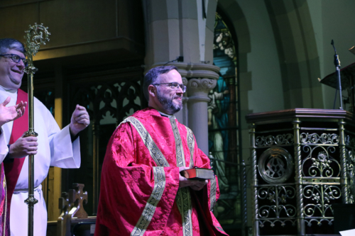 The Ordination of Asa David Coulson into the Sacred Order of Deacons