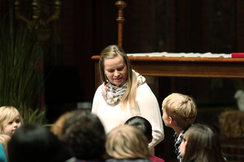 Alyssa Pasternak Post, Director of Children, Youth & Family Ministries at Saint James shares the story of the first nativity.
