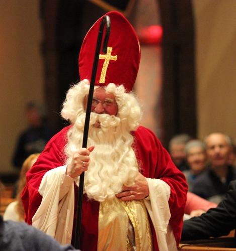 St. Nicholas arrives!